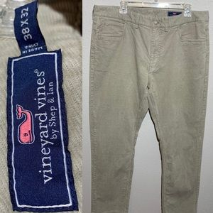 VINEYARD VINES Mens 38x32 Corduroy Pants
